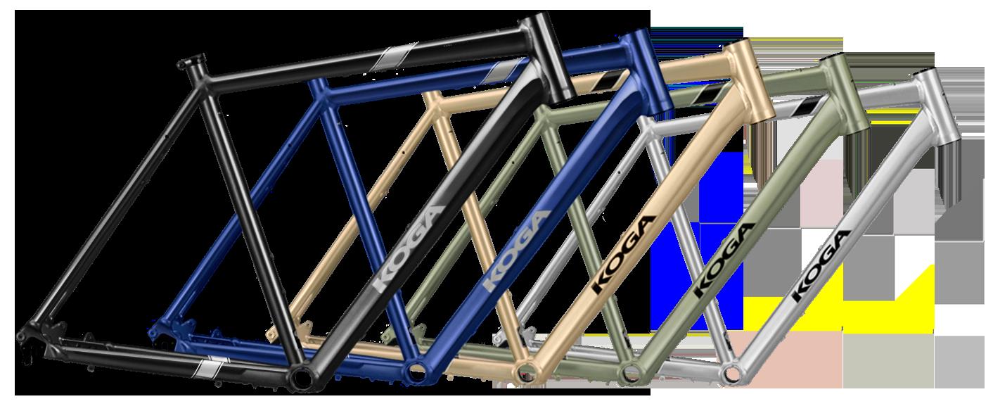 Koga GrandTourer framekleuren