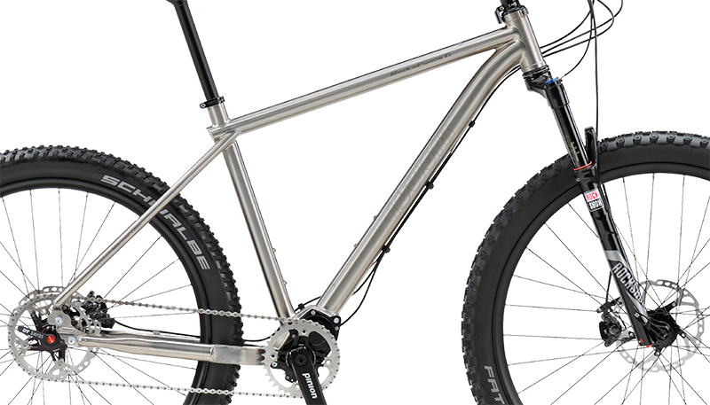 Idworx Rock oPinion Ti titanium frame