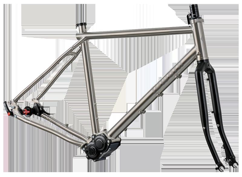 Idworx oPinion Ti titanium frame