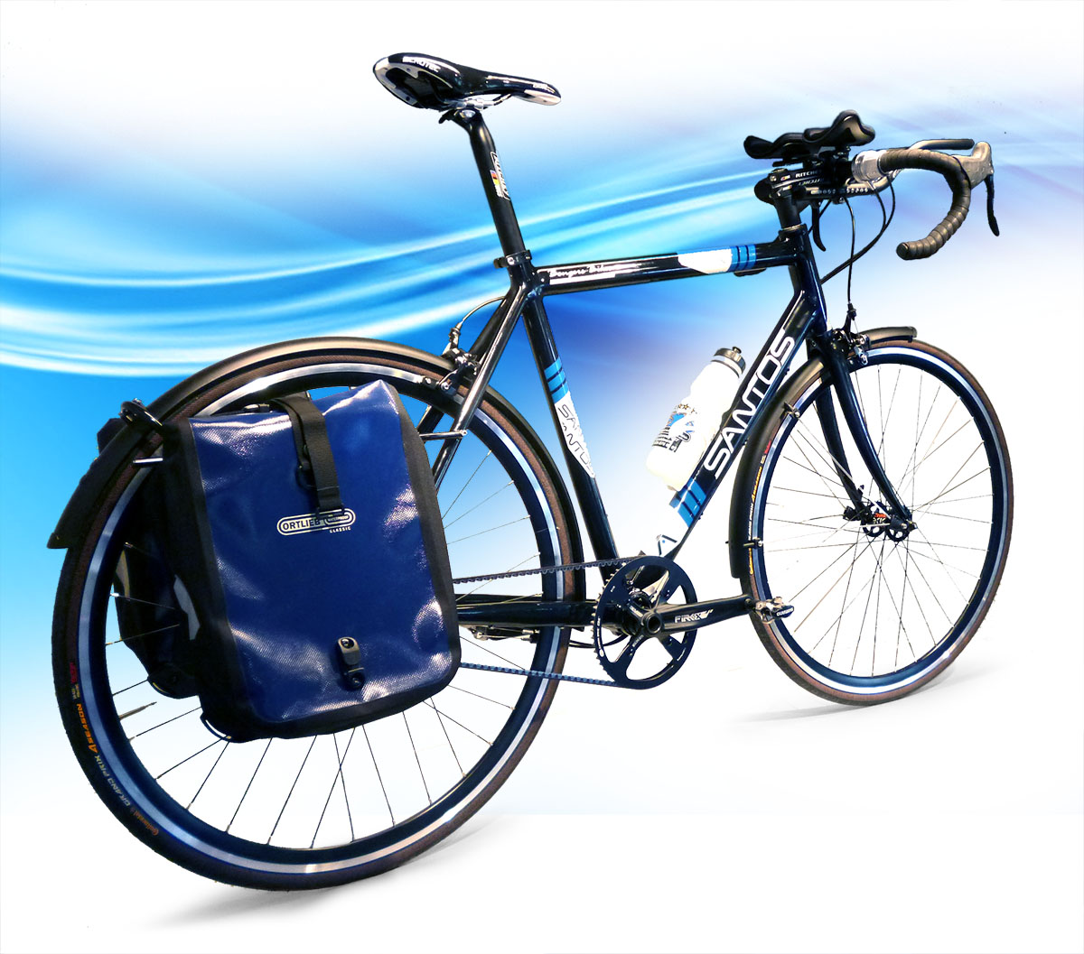 Santos Race Lite met tassen