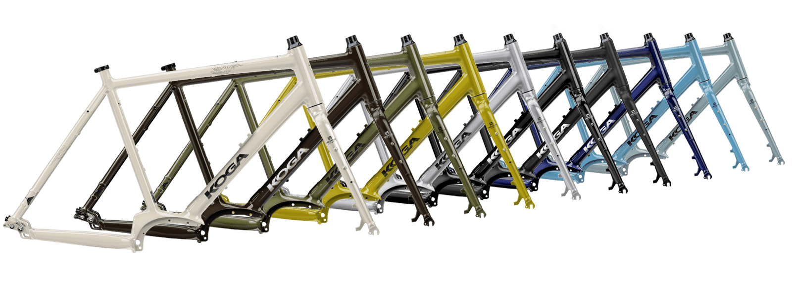 Koga Signature E-WorldTraveller-S framekleuren