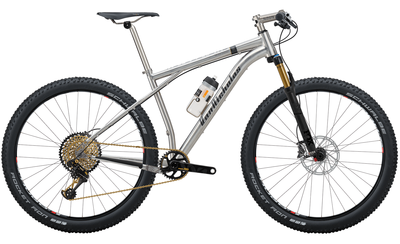Van-Nicholas Revelstoke titanium mountainbike
