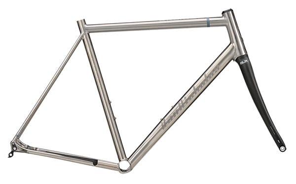 Van Nicholas Skeiron titanium frame + carbon voorvork