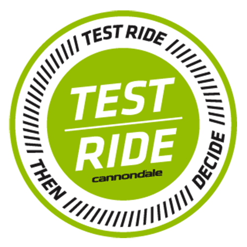 Cannondale test ride
